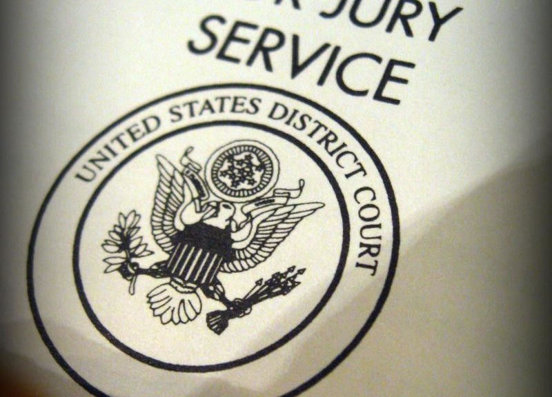 summons for jury service cover