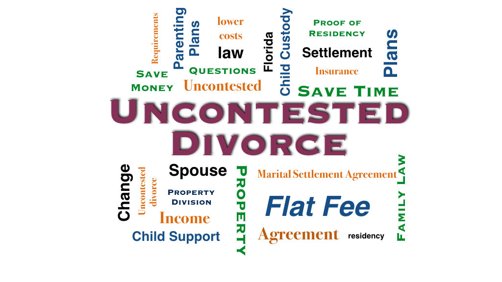 Uncontested Divorce Flat Fee at Law Office of Jeanne Coleman