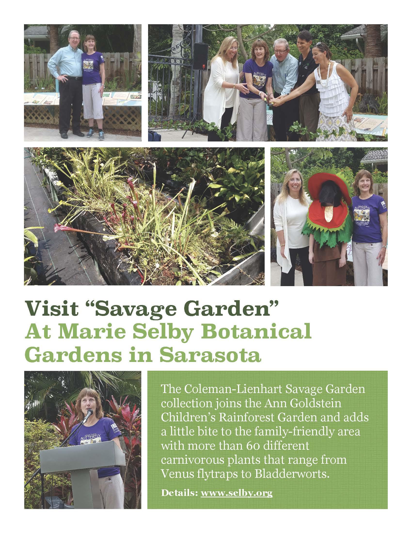 Savage Garden at Marie Selby Botanical Gardens-Sarasota