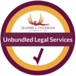 unbundled legal services from Law Office of Jeanne L Coleman